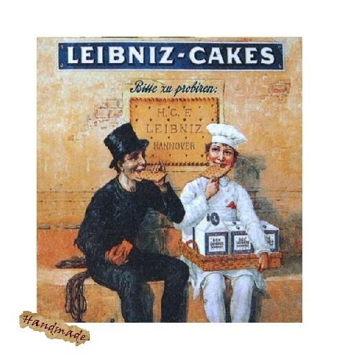 Tablou Reclama Retro Leibniz